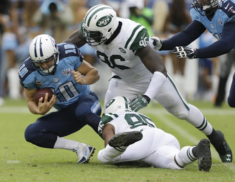 Titans S Griffin fined $21,000 by NFL