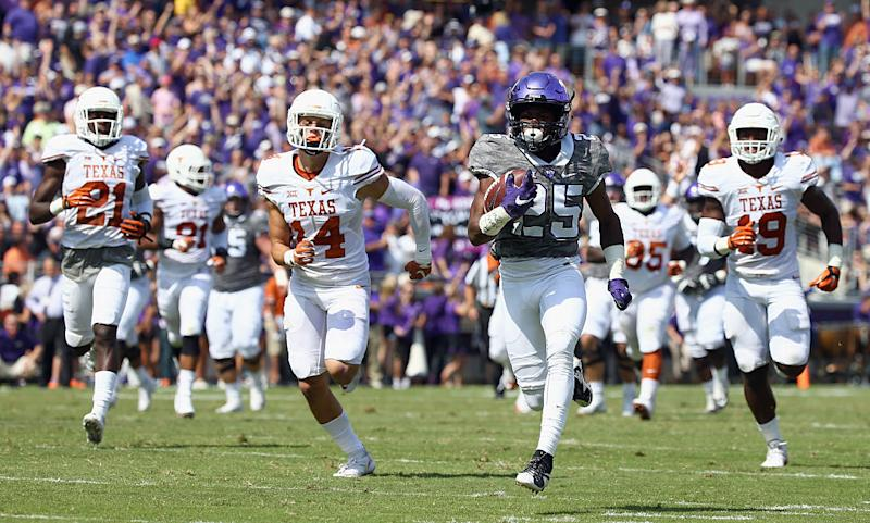 Kenny Hill throws for 452 yards against SMU