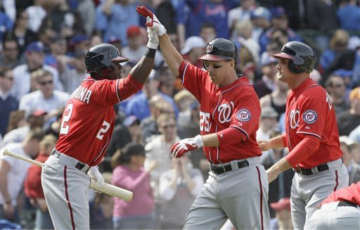Nationals rally again, beat Cubs 7-4