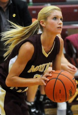 Mount Carmel junior star Tyra Buss, who has scored 51 and 50 points this year, added 30 with a separated shoulder — TyraBuss.com