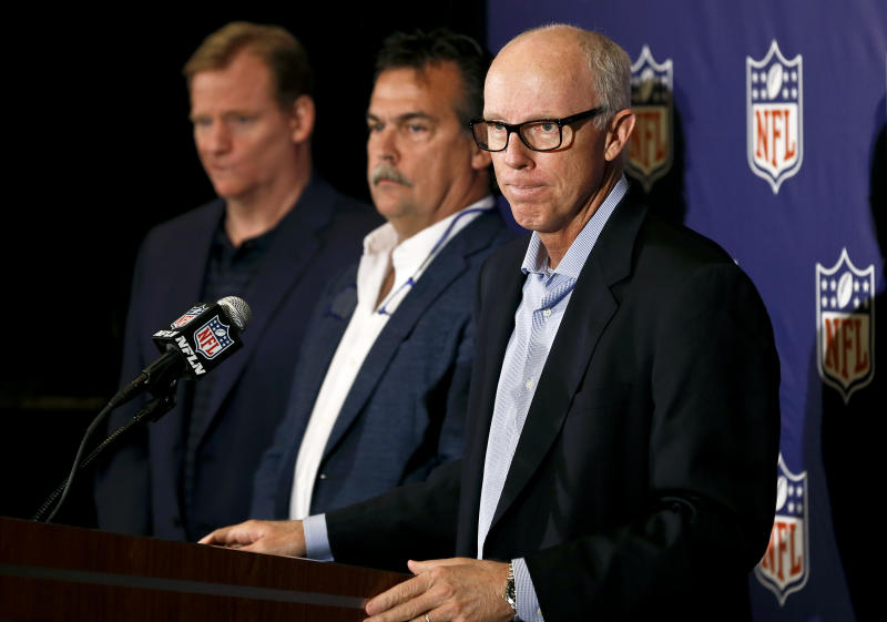 Busy week awaits NFL owners at spring meetings