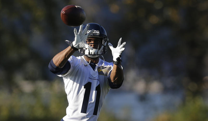 Harvin hopes to get back soon for Seattle