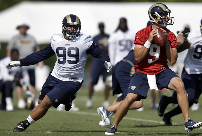 Rams rebuilding job leans heavily on kids