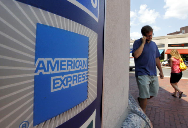 American Express 2Q profit grows 5 percent