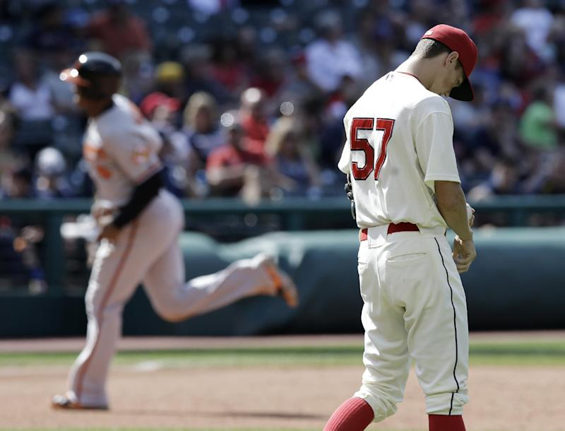 Gausman, Orioles avoid sweep, beat Indians 4-1