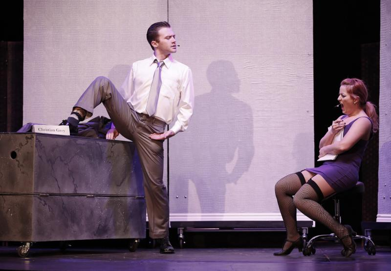 'Fifty Shades' musical is hornball heaven