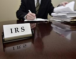 7. Keep an eye on IRS troubles copyright Lane V. Erickson/Shutterstock.com