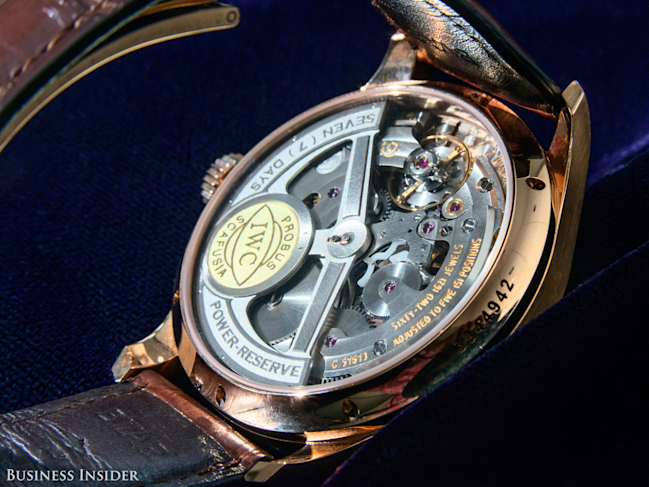 mechanical watches can be thousands of dollars more