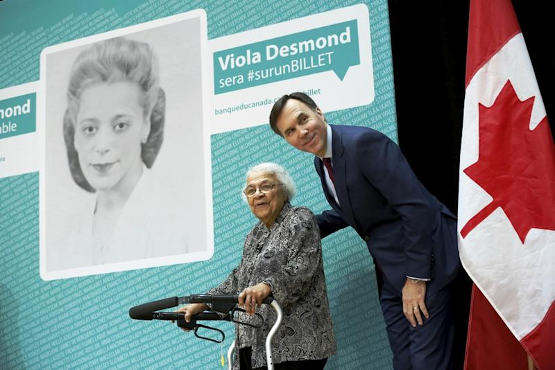 QuickQuotes: Viola Desmond on the new $10