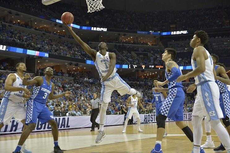 North Carolina foils Kentucky with late shot for 20th Final Four berth