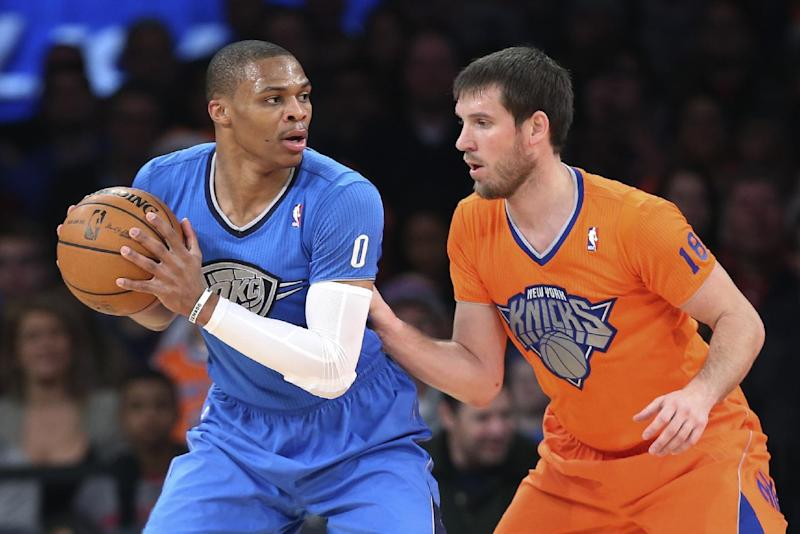 Thunder's Westbrook out until after All-Star break