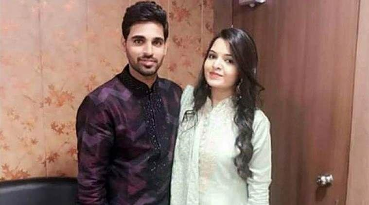 Team India pacer Bhuvneshwar Kumar gets engaged to 'better half' Nupur Nagar