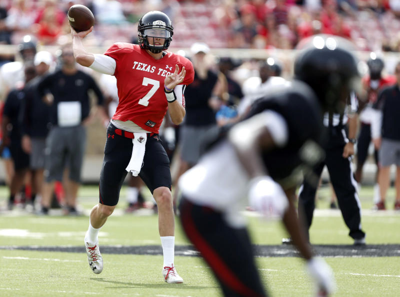 Webb has big day in Texas Tech spring game