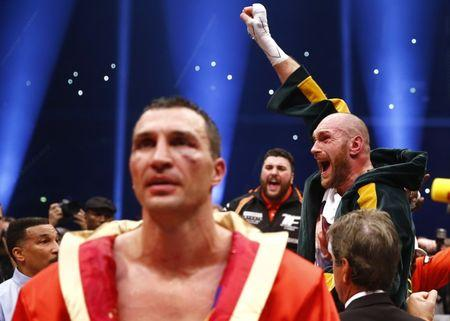 Joshua keen to fight Klitschko with possible December title clash on cards