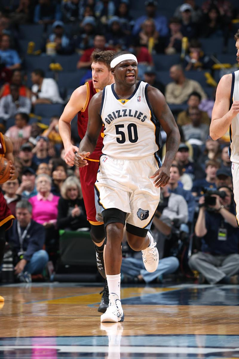 Randolph leads Grizzlies past Cavaliers 110-96