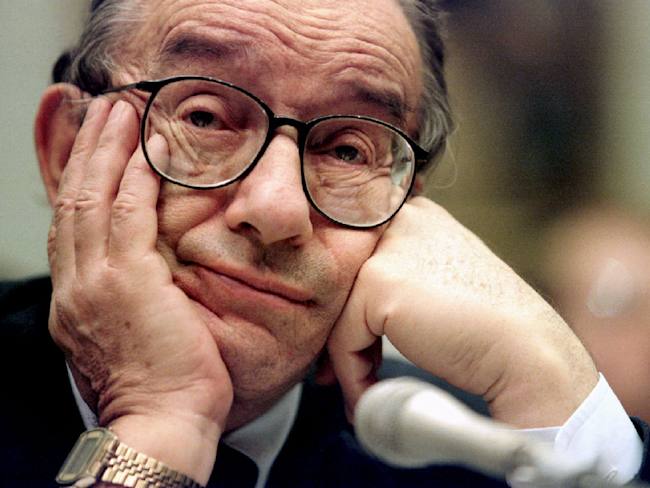 Greenspan Vouches for Dodd-Frank Rollback