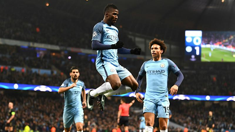 Iheanacho boosted by encouragement from suspended Aguero