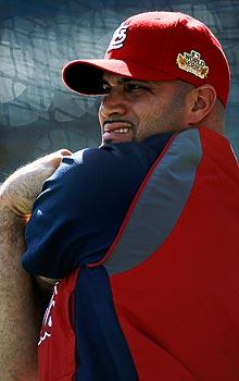 Pujols drama fills void on World Series off day