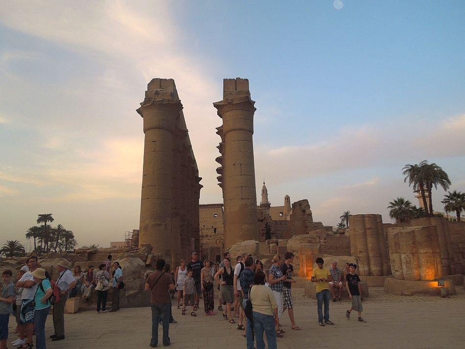 A Luxor sunset