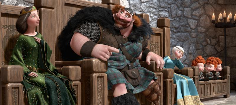 First Look: Pixar forges new princess with 'Brave'