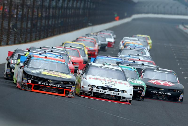 NASCAR orders restrictor plates for Indianapolis Xfinity Series event