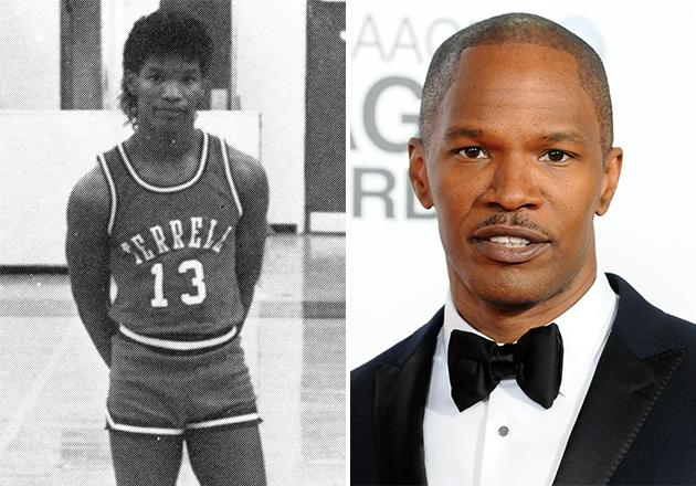 Who wears short-shorts?! In 1986, Jamie Foxx—then still known by his birth name, Eric Bishop—was a senior at Terrell High School in Terrell, Texas, and a member of the varsity basketball team. Lucky number 13 was rockin' the short shorts and the tucked-in tank, before he became one of America's top actors.