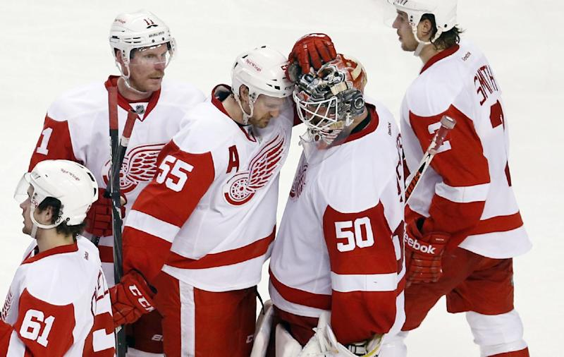 Red Wings exit quietly after run to make playoffs