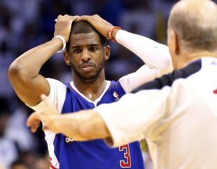 Clippers guard Chris Paul is president of the Players Association. (AP)