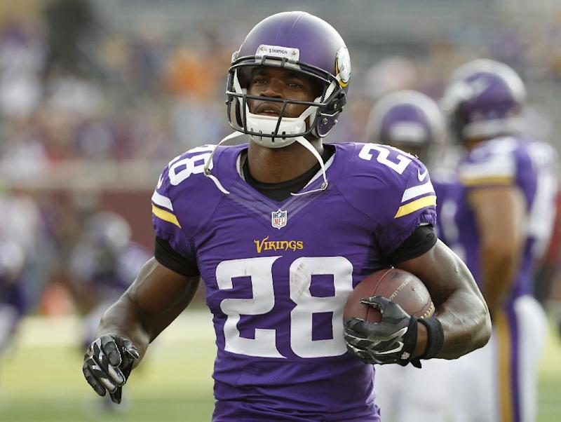Adrian Peterson 'would love to retire as a Viking'