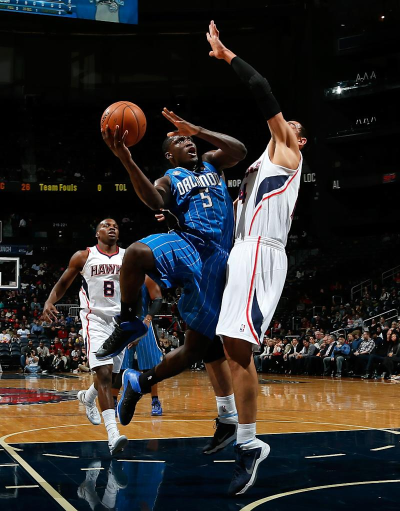 Afflalo, Magic end road skid, 109-92 over Hawks