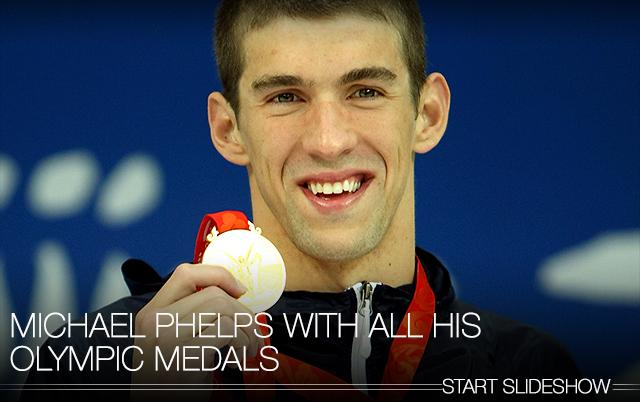Michael Phelps wasn't trying at the 2012 London Olympics, but he is now