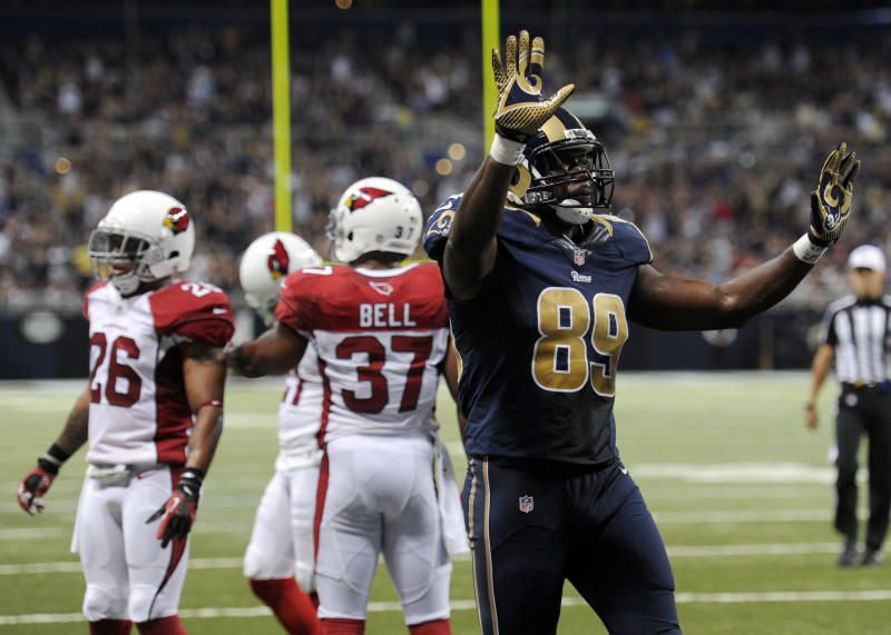 TE Jared Cook coming off huge debut for Rams