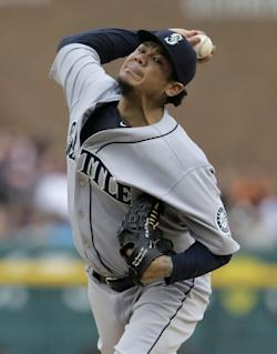 Felix Hernandez is 13-4 with a 1.99 ERA this season. (AP)