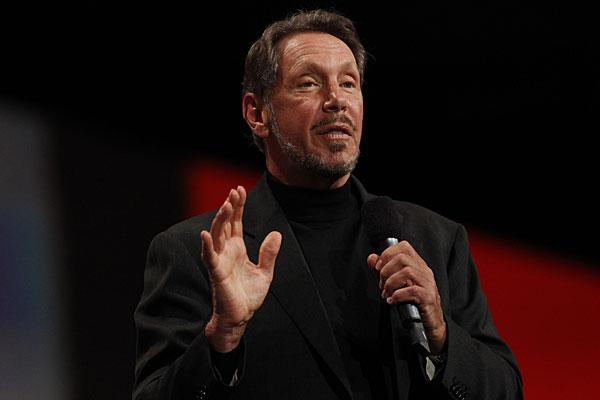 "<b>3. Lawrence J. Ellison, 67</b> <br>Company: Oracle <br>Net worth: $35 billion <br>2011 compensation: $77.6 million <br><br>As the co-founder and CEO of Oracle, Larry Ellison is also the sixth richest person in the world and the third wealthiest in the U.S., according to Forbes. <br><br>Ellison co-founded Oracle under the name Software Development Laboratories (SDL) in 1977. The company picked up a contract with the CIA in the same year to build a database program code-named ""Oracle."" In 1980, the firm had only eight employees and turnover of less than $1 million, but after IBM adopted Oracle's mainframe systems the following year, its <a href=""http://www.reuters.com/article/2010/02/14/us-sailing-americas-ellison-idUSTRE61D1VK20100214"">sales doubled</a> every year for the next seven. Since then, Oracle has grown to over 380,000 customers and is the third-largest software company based on revenues behind IBM and Microsoft. <br><br>Ellison's stake in Oracle is estimated to be about $32.8 billion, according to Wealth-X. A sailing enthusiast, his yacht Rising Sun is one of the largest privately owned vessels in the world, worth an estimated $200 million. In 2009, Ellison also bought the Indian Wells ATP tennis championship event, the <a href=""http://articles.latimes.com/2011/mar/12/sports/la-sp-dwyre-20110313"">BNP Paribas Open</a>, for $100 million. Other notable assets include his Japanese-style home in California valued at $70 million. <br><br>Ellison has consistently topped the list of the world's highest paid CEOs in the past decade. In 2009, he was the highest paid CEO with <a href=""http://www.reuters.com/article/2010/04/04/us-ceo-pay-idUSTRE6330X220100404"">compensation totaling $84.5 million</a>. Despite his growing wealth, Ellison is also known for his philanthropy. In 2010 he joined the ""Giving Pledge"" — a campaign by billionaires Warren Buffett and Bill Gates to give away at least half of his fortune to charity."