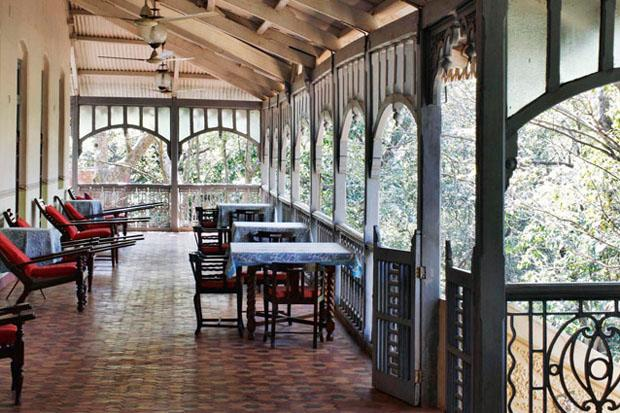 Verandah in the Forest, Matheran. Photo: Tom Parker -  Trek up to the Garbert Plateau, enjoy long walks with your loved one amidst the old trees, picnic along Charlotte Lake, and watch the sunset from one of the 33 viewing spots overlooking misty valleys. For a different kind of romantic experience, stay at the Verandah in the Forest by Neemrana Hotels, and step back into the 19th century.
