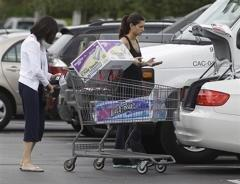 Americans spending more with income almost flat