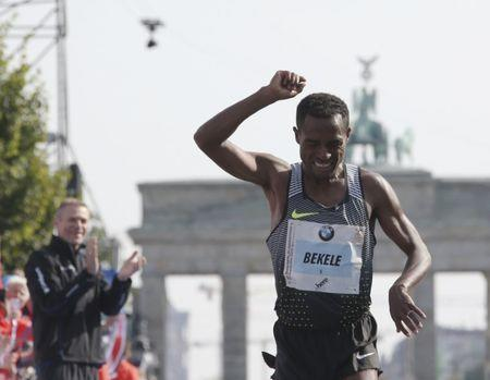 Kenya's Keitany eyes marathon world record in London