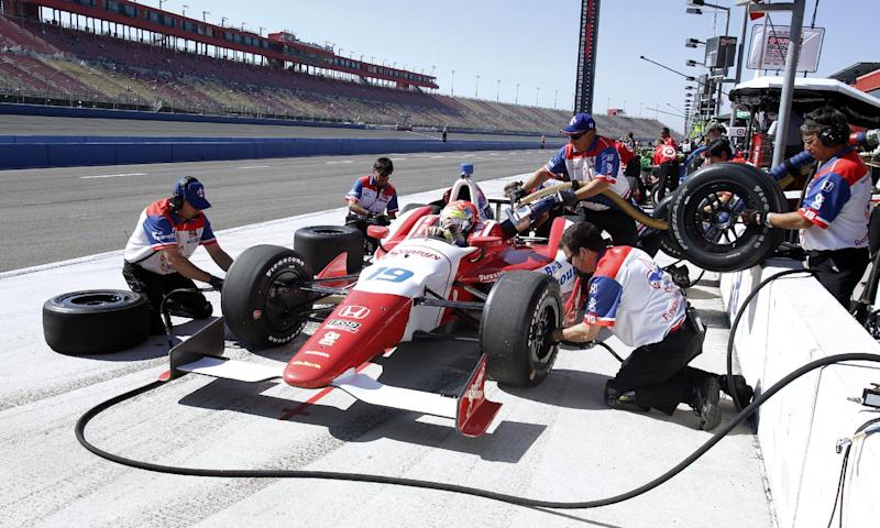 Injured IndyCar driver released from hospital