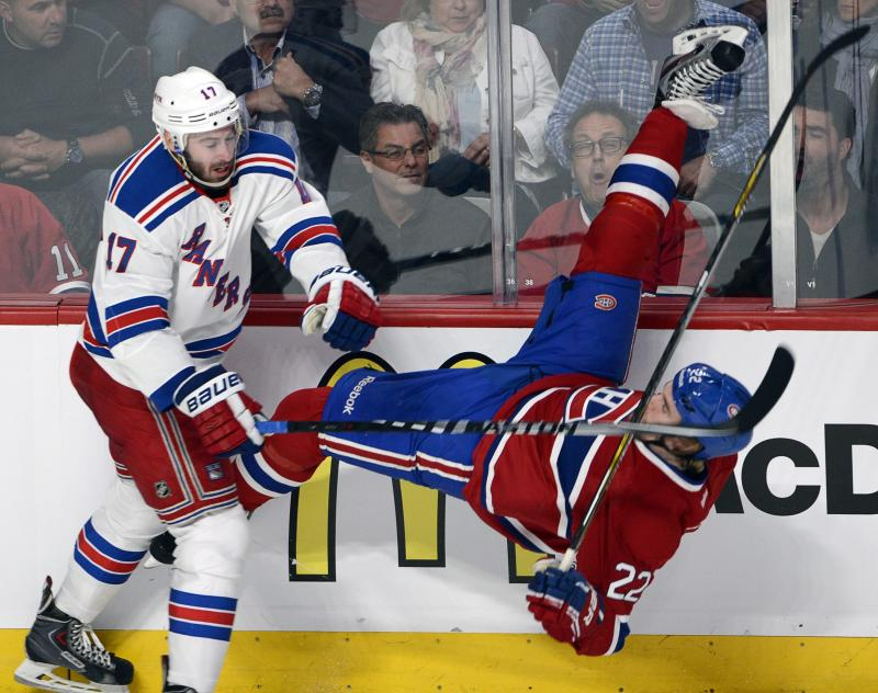 Rangers defenseman Moore suspended 2 games by NHL