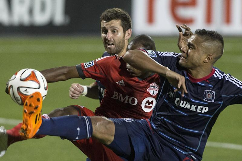 Toronto FC finishes in 2-2 draw with Fire