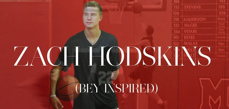 Zach Hodskins has inspired Beyonce, among hordes of other Americans — Twitter