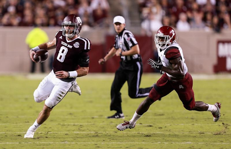 Knight out for regular season for No. 10 Texas A&M