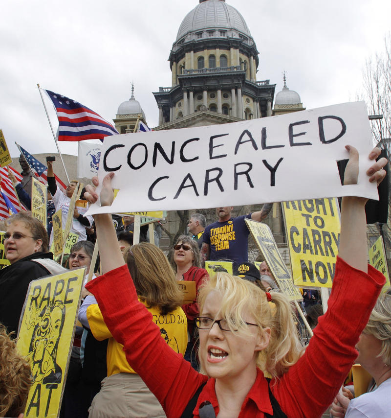 High court fight looms over right to carry a gun