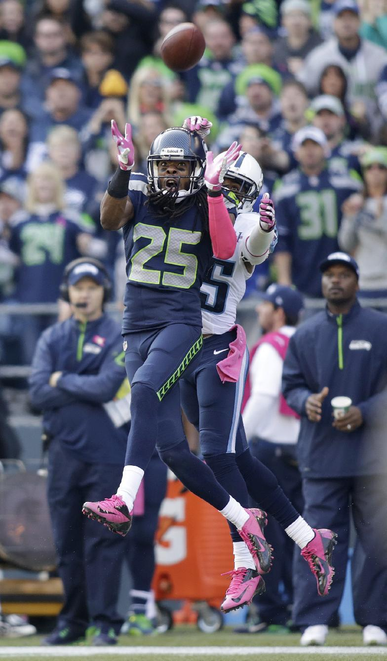 Seattle displaying depth of talented secondary