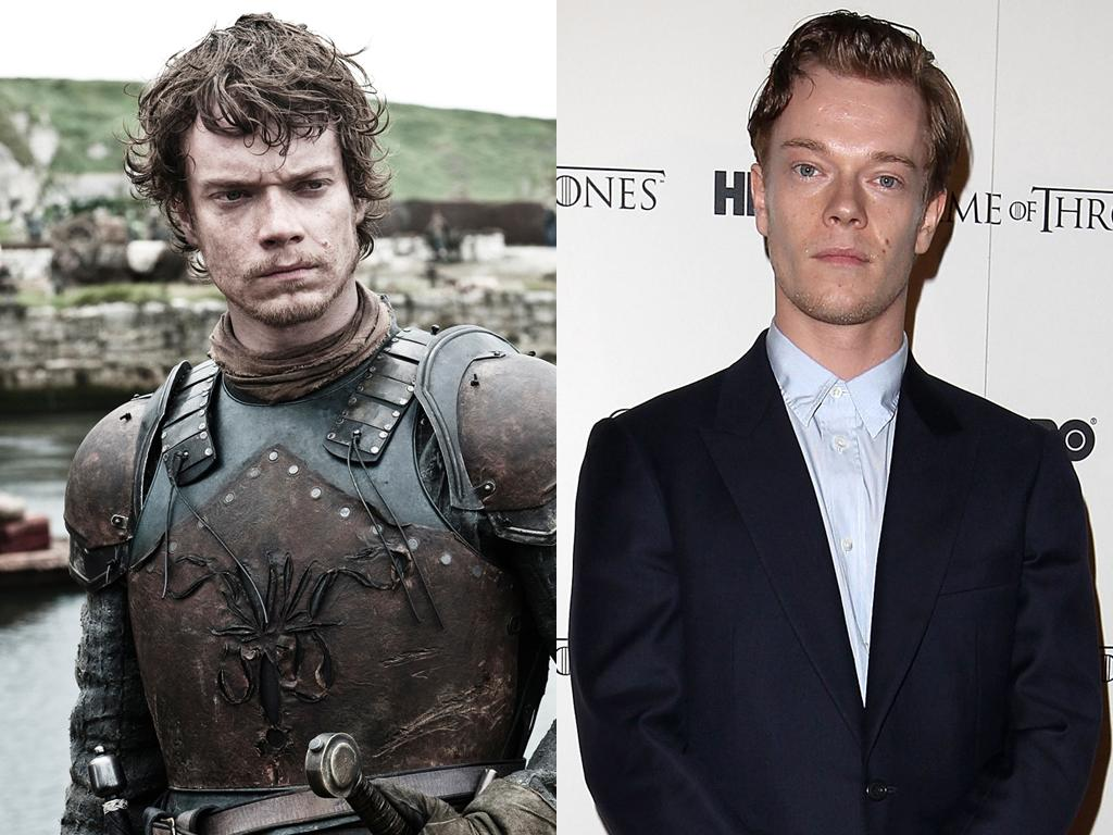 """<b>Alfie Allen (Theon Greyjoy)</b><br><br>Though his """"Game of Thrones"""" character Theon Greyjoy may have some serious issues with his sister, in real life, Alfie Allen has a great relationship with his big sister: British pop star Lily Allen. Perhaps her song """"Alfie,"""" which she wrote about the 25-year-old actor, encouraged him """"to get a job."""" And what an excellent job he finally did get!"""
