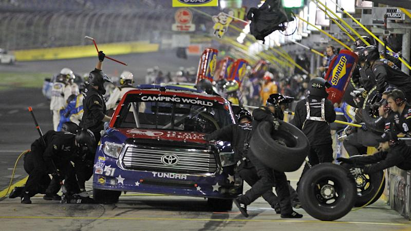Busch wins another Truck Series race at Charlotte