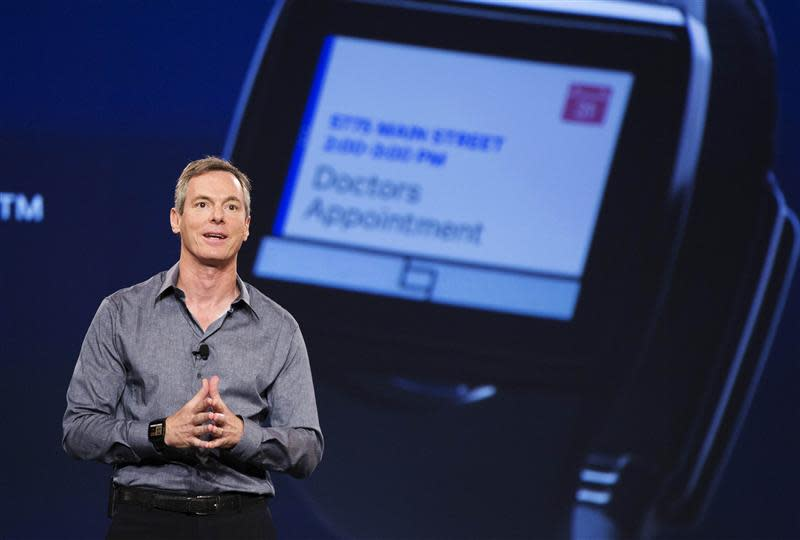 """Jacobs, chairman and CEO of Qualcomm, talks about the new """"Toq"""" smartwatch at the Uplinq 2013 conference in San Diego"""