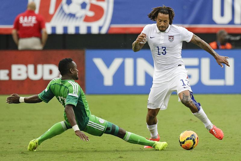 Nigeria arrives for World Cup, on time this time