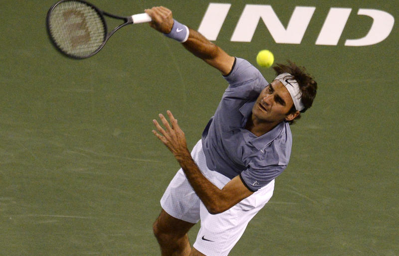 Federer beats Anderson to reach Indian Wells semis