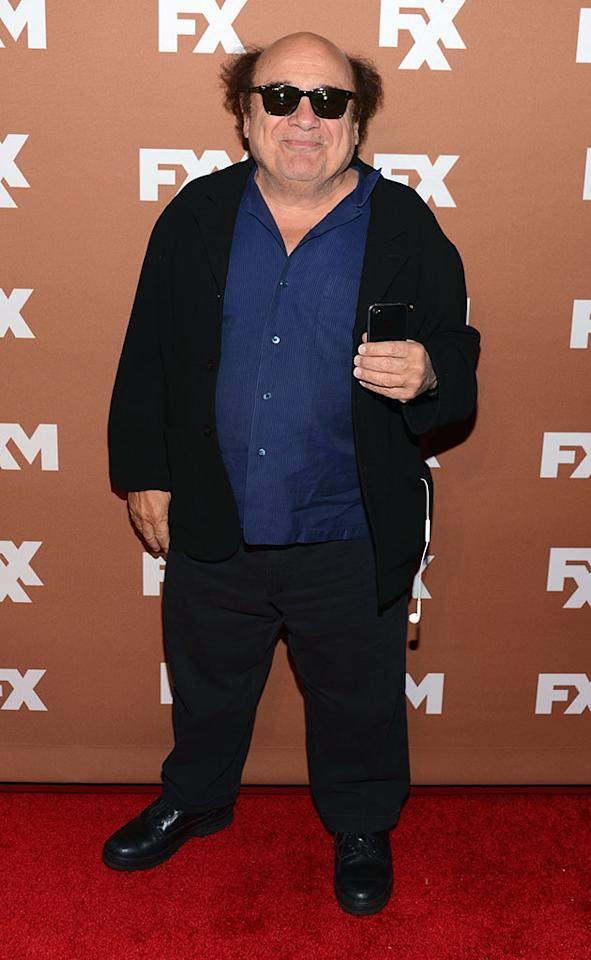Danny De Vito attends the 2013 FX Upfront Bowling Event at Luxe at Lucky Strike Lanes on March 28, 2013 in New York City.